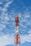 Telephone signal pole Royalty Free Stock Photos