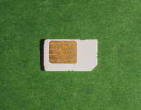 Telephone SIM card Royalty Free Stock Images