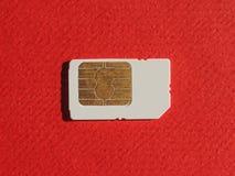 Telephone SIM card Stock Image