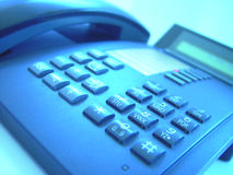 Telephone study 4 Royalty Free Stock Photo