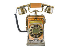 The telephone in style of a retro Royalty Free Stock Image