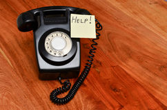 Telephone support Stock Photo