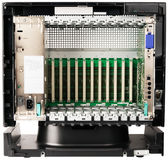 Telephone switch chassis on white Stock Photography