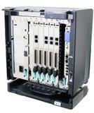 Telephone switch isolated Stock Image
