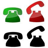 Telephone Symbols Stock Images