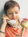 Telephone Talk Royalty Free Stock Images