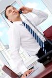 Telephone talk Stock Photography