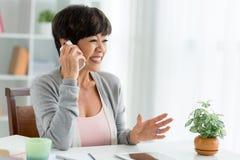 Telephone talk Royalty Free Stock Photos