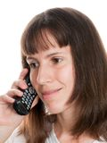 Telephone talking Royalty Free Stock Photo