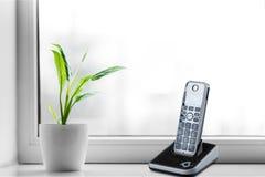 Telephone. Cordless phone equipment wireless technology dect technology communication royalty free stock photos