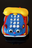 Telephone toy Stock Images