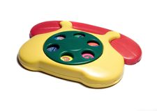 Telephone toy Royalty Free Stock Photography