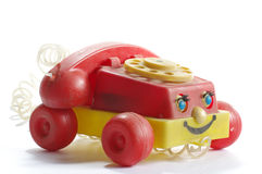 Telephone toy plastic Royalty Free Stock Photo