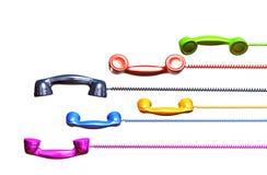 Telephone tubes Royalty Free Stock Photo