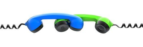 Telephone Tubes Stock Image