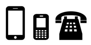 Telephone, vector illustration Stock Photos