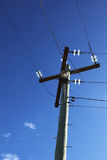 Telephone wires Royalty Free Stock Image