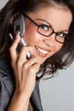 Telephone Woman Royalty Free Stock Images