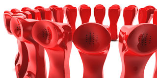Telephones Royalty Free Stock Photo