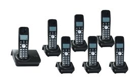 Free Telephones On A White Background Royalty Free Stock Photo - 13248145