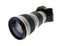 telephoto объектива фотоаппарата стоковое изображение rf