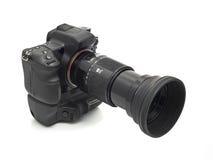 telephoto профессионала объектива dslr камеры стоковое фото