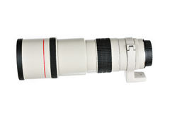 Telephoto camera lens Stock Images