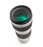 Telephoto camera lens Stock Photo