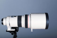 Telephoto camera lens Stock Photography