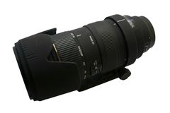 Telephoto Lens Stock Photo
