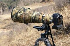 Free Telephoto Lens And Camera Stock Photo - 23998930