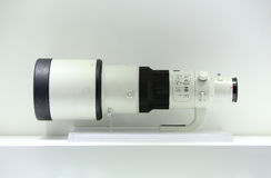 Telephoto lens Royalty Free Stock Images
