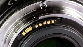 Telephoto lens stock video