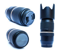 Telephoto lens-2 Royalty Free Stock Photos