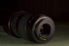 Telephoto obiektywu apertury góra Obrazy Royalty Free