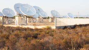 Teleport satellite communications Stock Images