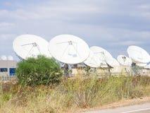 Teleport satellite communications Stock Photos