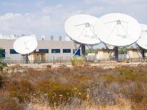 Teleport satellite communications Royalty Free Stock Photos