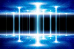 Teleportation to another world or dimension. Sci-fi background - teleportation to another world or dimension, secret scientific experiment. Elements of this stock image
