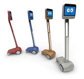Telepresence robot Stock Image