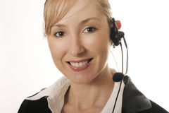 Telesales royalty free stock photo