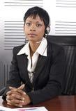 Telesales africano immagine stock libera da diritti