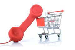 Telesales Royalty Free Stock Image