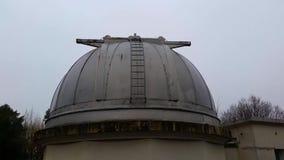 Telescópio astronômico do obervatório filme