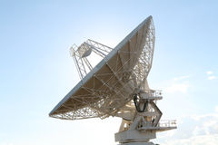 Telescópio de rádio Imagens de Stock