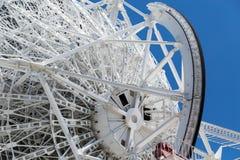 Telescópio de rádio branco grande RTF-32 Fotos de Stock Royalty Free