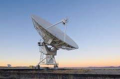 Telescópio de rádio de VLA fotografia de stock royalty free