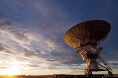 Telescópio de rádio de VLA imagens de stock royalty free