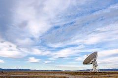 Telescópio de rádio de VLA Imagem de Stock