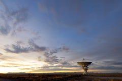 Telescópio de rádio de VLA foto de stock royalty free